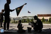 اهتزاز بزرگترین پرچم یا حسین (ع) - ۹ شهریور ۱۳۹۸