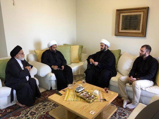 دبیرکل نجباء با نماینده مقام معظم رهبری در لبنان دیدار کرد
