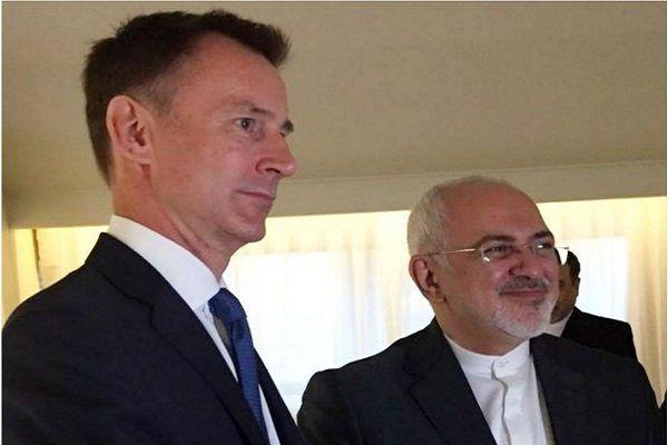 دیدار وزرای خارجه ایران و انگلیس در نیویورک