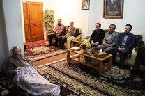 دیدار دانشگاهیان دانشگاه آزاد اسلامی واحد رشت با خانواده دو شهید گرانقدر انقلاب اسلامی