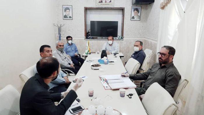 بررسی وضعیت آب بستک در جلسه شورای شهر