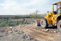 رفع تصرف 3600 متر مربع زمینهای ملی در منطقه مرق اصفهان
