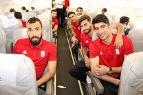 تیم ملی فوتبال ایران به محل برگزاری اردوی خود در ترکیه رفت