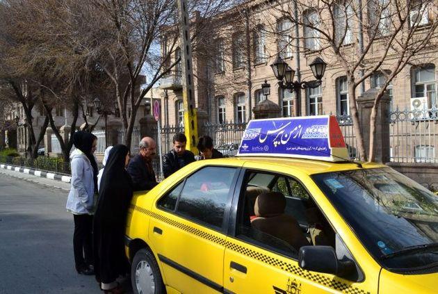 """200 تاکسی """"از من بپرس"""" روزانه راهنمای گردشگران کرمانشاه"""