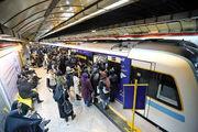 خروج دو واگن های مترو خط ۶ از ریل/ هنوز آماری از مجروحان احتمالی منتشر نشده است