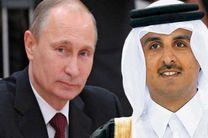 رئیسجمهوری روسیه با امیر قطر دیدار کرد