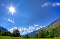 آسمان مازندران صاف تا قسمتی ابری