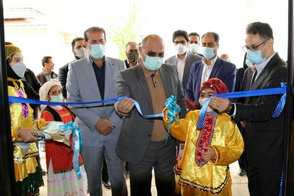 مرکز فرهنگی هنری بنفشه مازندران گشایش یافت