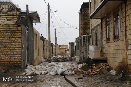 طغیان رودخانه قرهسو در کرمانشاه