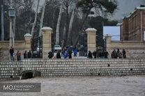 بوستان جوانمردان کاملا تخلیه شد/ منطقه ۲۲ شهرداری تهران به آماده باش کامل در آمد