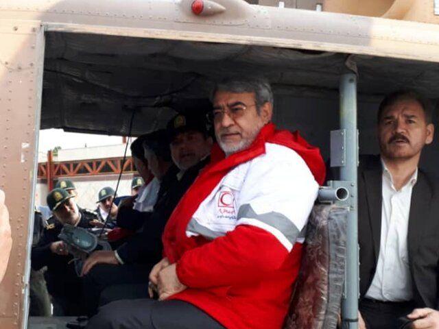 وزیر کشور وارد استان لرستان شد