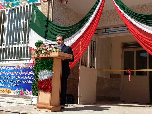 مدرسه ساخته شده از سوی وزارت خارجه امروز تحویل آموزش و پرورش میشود