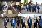 پروژههای مسکن شهری بنیاد مسکن استان قم مورد بازدید قرار گرفت