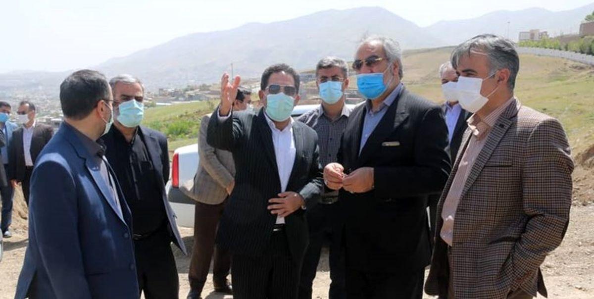 رضایت استاندار کردستان از روند پیشرفت فیزیکی پروژه های عمران شهری