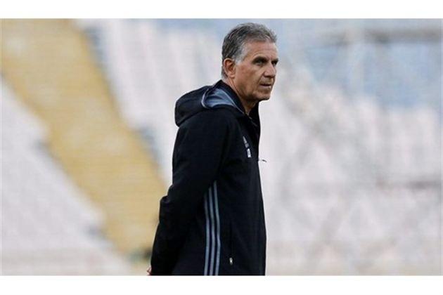کیروش برای تیم داوری ایران در جام جهانی آرزوی موفقیت کرد