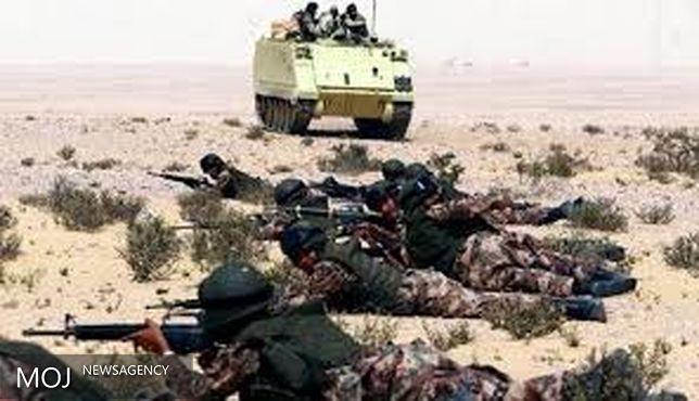 حمله بالگردهای ارتش مصر به مواضع تروریست در سینای شمالی