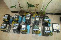 کشف 10 دستگاه ماینر غیر مجاز از یک موتورخانه کشاورزی