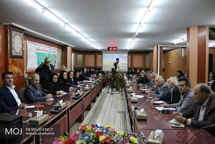 نشست خبری مدیر عامل جمعیت هلال احمر استان اصفهان