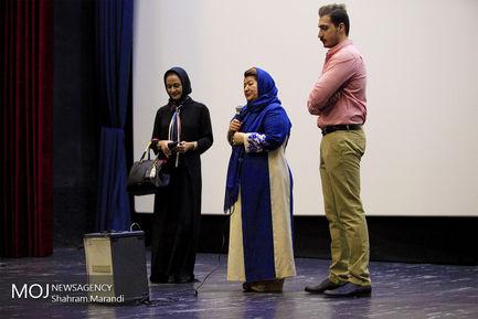 اکران فیلم زیر سقف دودی با حضور عوامل فیلم