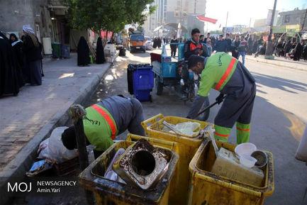 کاروان خادم الحسین (ع) شهرداری تهران در کربلای معلی