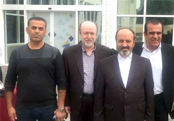 افتخاری و زمانی به عمان رسیدند+عکس