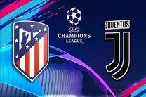پخش زنده بازی یوونتوس و اتلتیکو مادرید از شبکه ورزش
