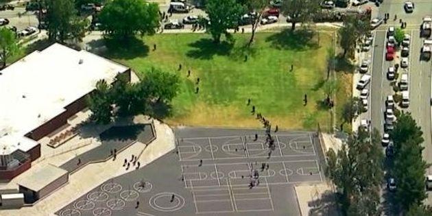 تیراندازی در یک مدرسه ابتدایی در کالیفرنیای آمریکا