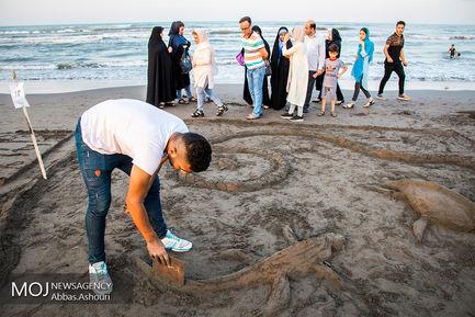جشنواره مجسمه های شنی