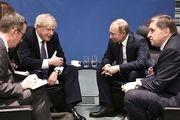 روسیه بیانیه لندن درباره دیدار اخیر پوتین و بوریس جانسون را رد کرد
