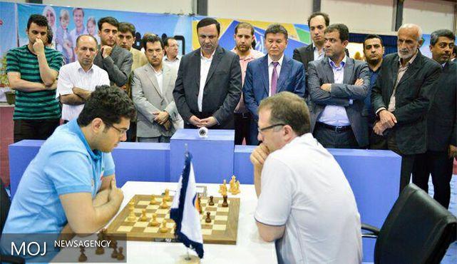 تیم ملی شطرنج ایران مغلوب منتخب جهان شد