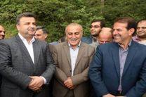 افتتاح جاده سلامت منطقه جنگلی کلاردشت