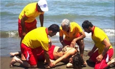 کاهش 85 درصدی غرق شدگان سواحل دریای خزر در نوشهر