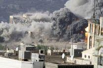 حملات جنگندههای سعودی به پایتخت یمن
