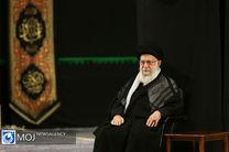 عزاداری شام غریبان حسینی با حضور مقام معظم رهبری