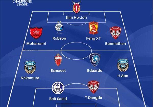 رابسون، محرمی و بیت سعید در تیم منتخب دور رفت مرحله یک هشتم نهایی لیگ قهرمانان آسیا+عکس
