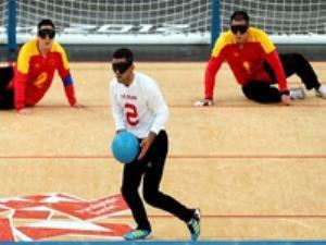 تیم ملی گلبال مردان ایران به مرحله نیمه نهایی راه یافت