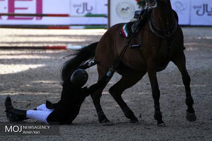 روز دوم مسابقات بین المللی پرش با اسب CSI