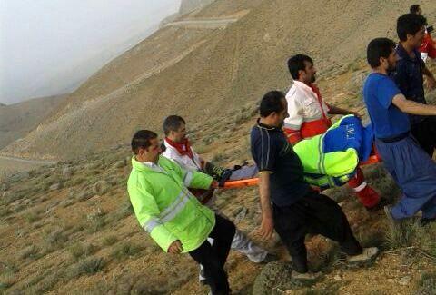 کوهنورد ۱۸ ساله دهاقانی نجات یافت