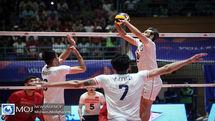 برنامه دیدارهای تیم ملی والیبال ایران در هفته پنجم