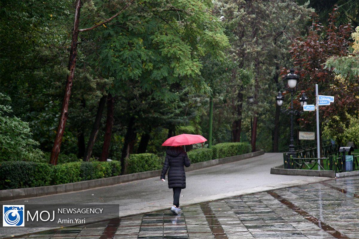 پیش بینی وضعیت جوی تهران تا ۱۰ فروردین/ بارش باران در ۱۰ استان کشور طی امروز