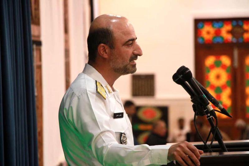 اجازه نگاه ناپاک هیچ قدرتی را به حریم خاک ایران نمی دهیم