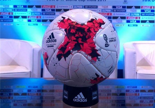 رونمایی از توپ جام جهانی فوتبال