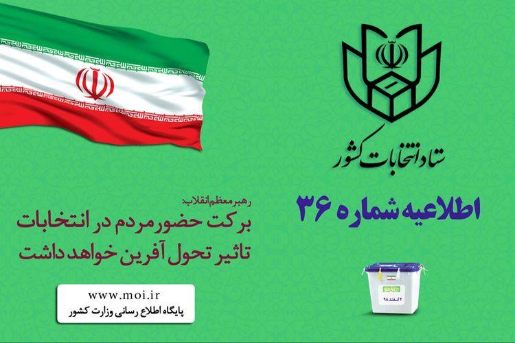 انتخابات در شعبه هایی که مراجعه کننده دارد تا ساعت 23:30 تمدید شد