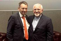 دیدار ظریف با رئیس کمیته بینالمللی صلیب سرخ جهانی
