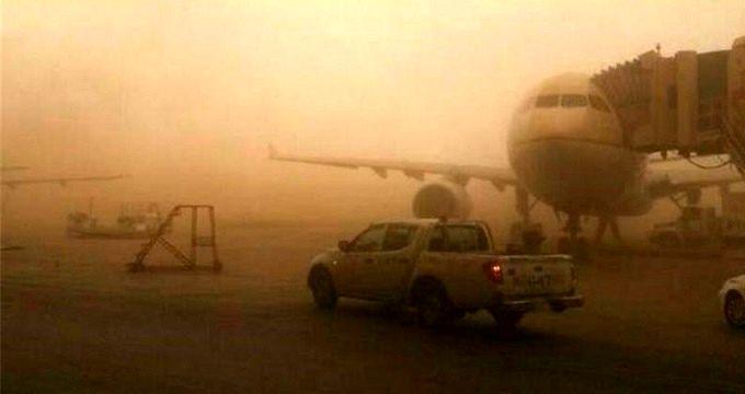 احتمال لغو پروازهای فرودگاه آبادان در ظهر به شرط کاهش دید افقی