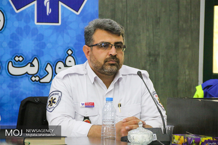 نشست خبری رییس اورژانس دانشگاه علوم پزشکی استان اصفهان