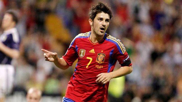 داوید ویا به تیم ملی فوتبال اسپانیا دعوت شد