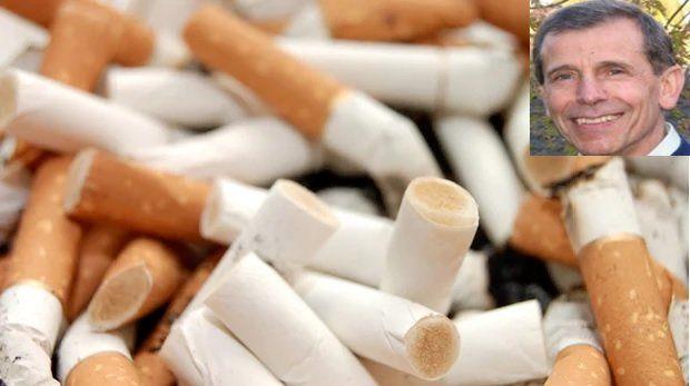 استفاده از ته سیگار برای تولید آسفالت