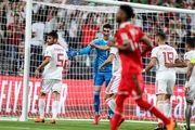 برتری ایران مقابل عمان در نیمه نخست بازی