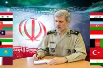 تبریک وزیر دفاع به وزرای دفاع کشورهای اسلامی به مناسبت عید فطر